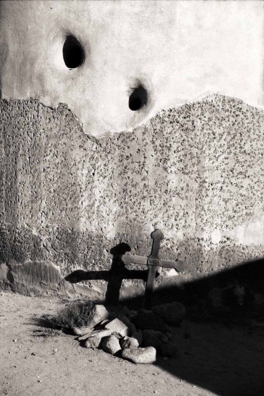 Church grave site (study 2), Arizona, 1990