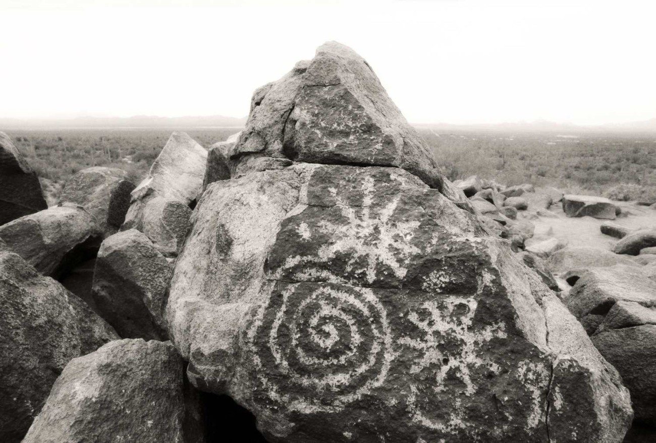 Petroglyphs, Sagauro National Park, Arizona,1990