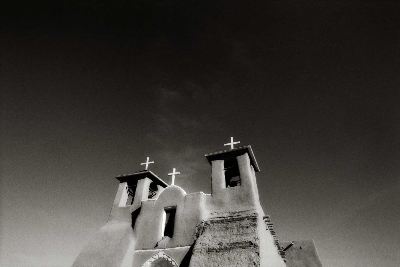 Saint Francis of Asis Mission Church (study 2), Rancho de Taos,