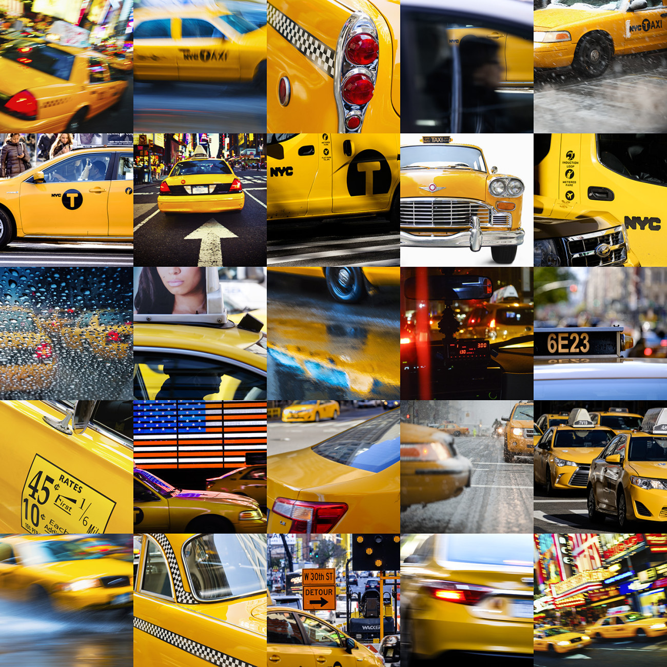 Taxi!, New York, 2015