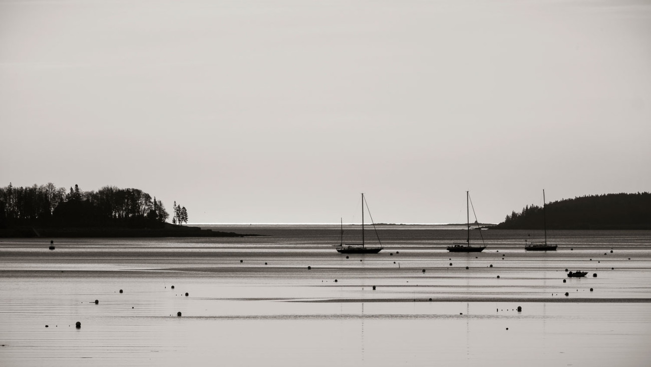 Early morning, Southwest Harbor, Maine, 2014