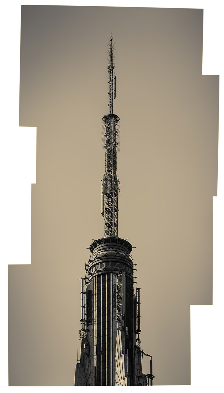 Tower, Empire State Building, NY, 2015