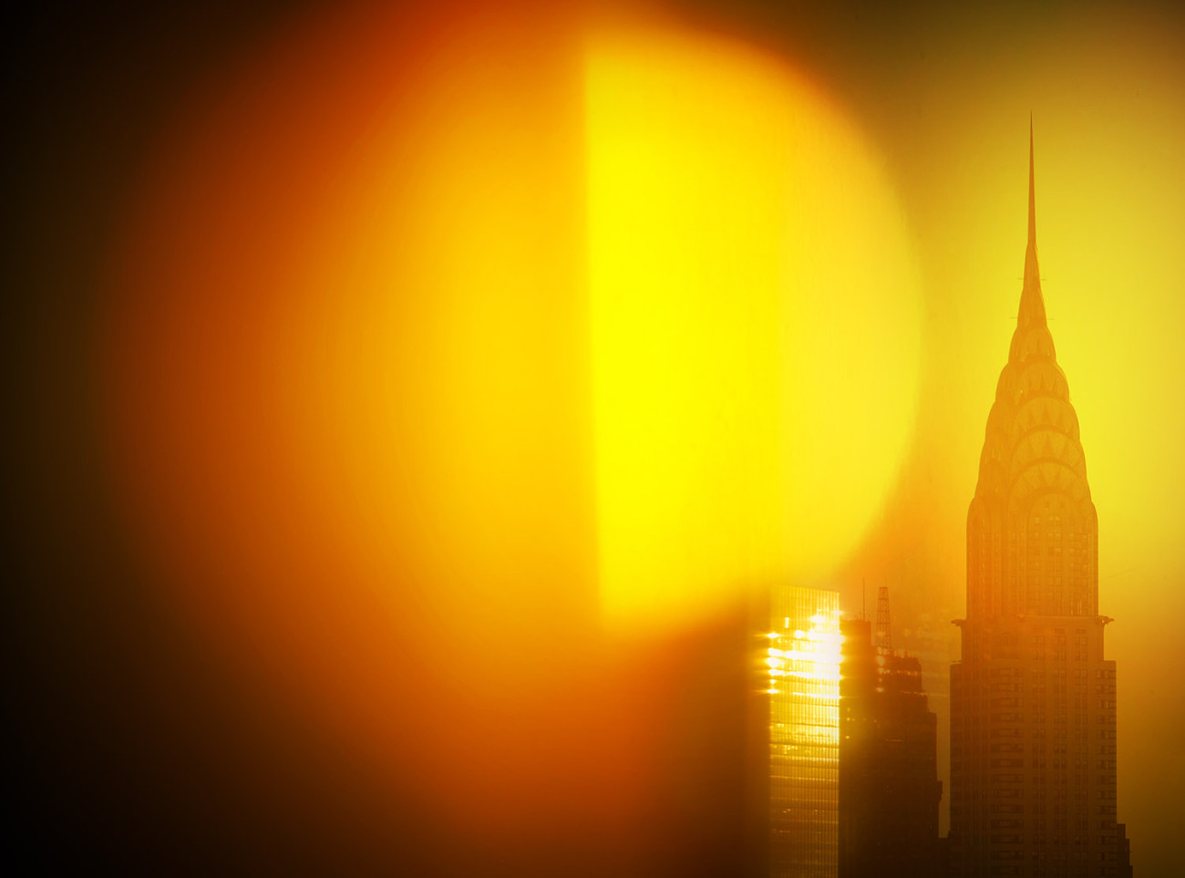 Chrysler Building sunrise, NY, 2016