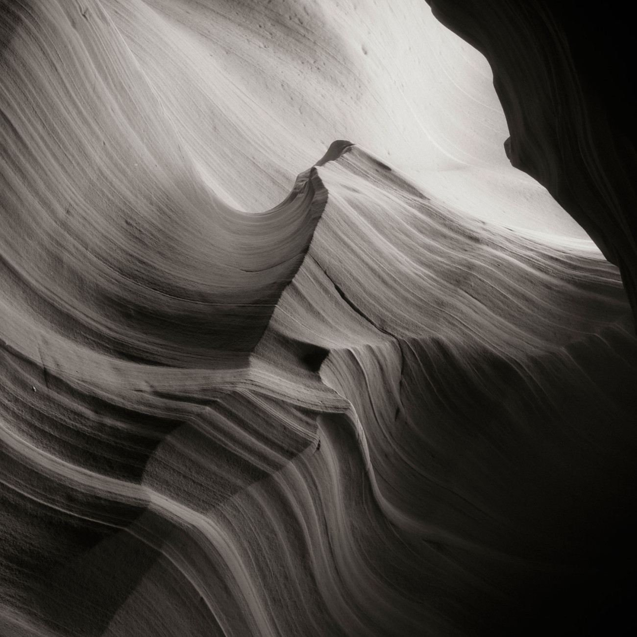 Antelope Canyon, study 2, Arizona, 2008