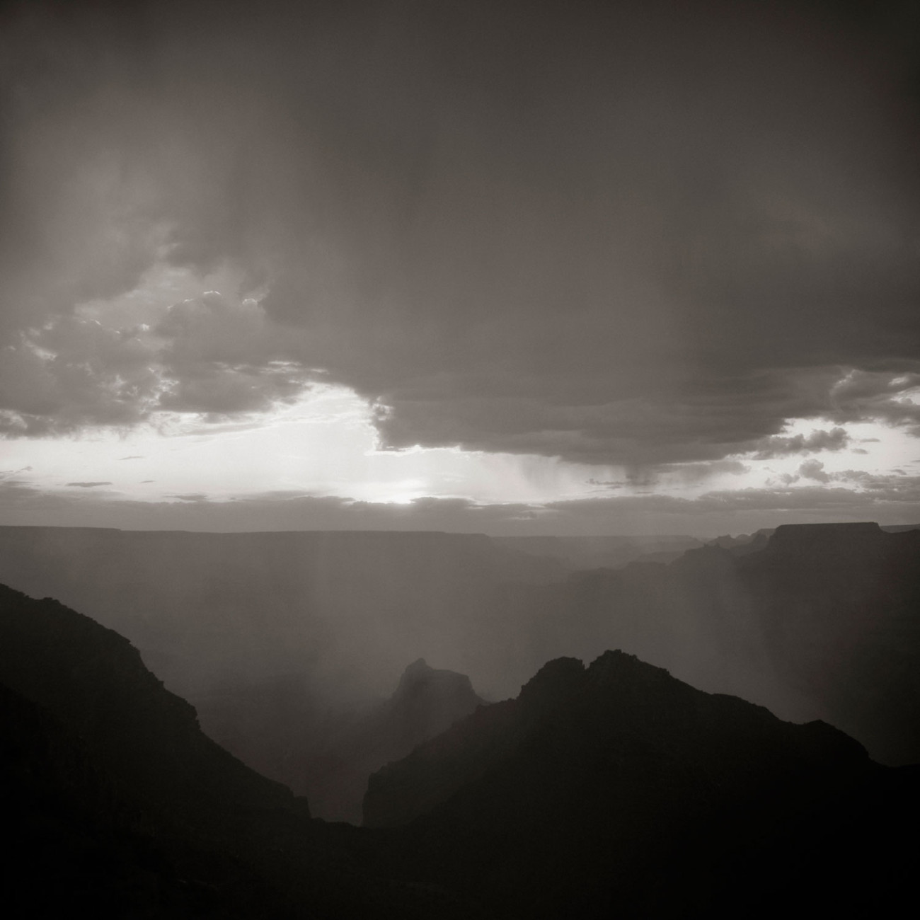 Clearing storm, Grand Canyon, Arizona, 2008