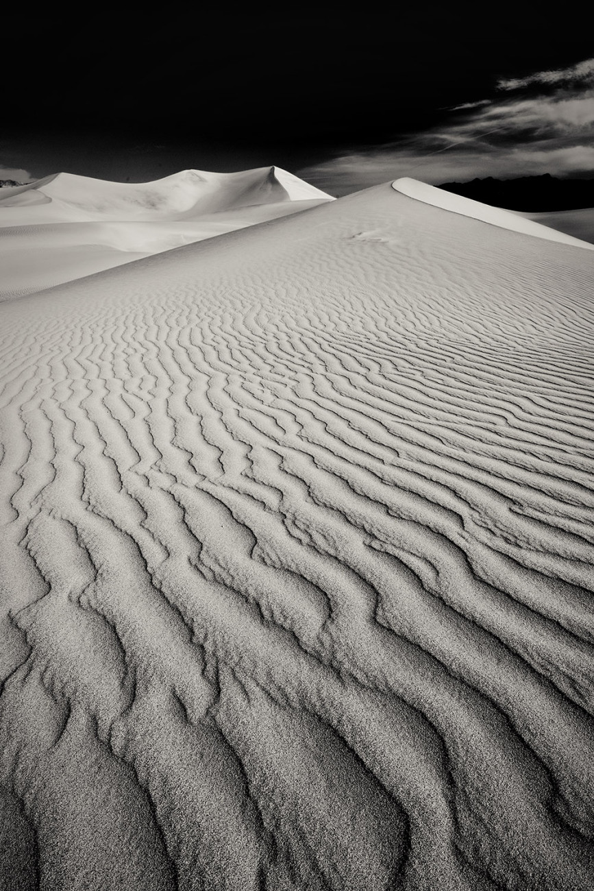 Death Valley dunes, CA, 2009