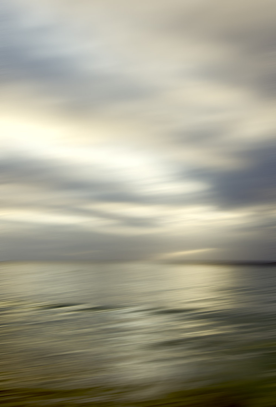 Calm seas in fading light, 2013