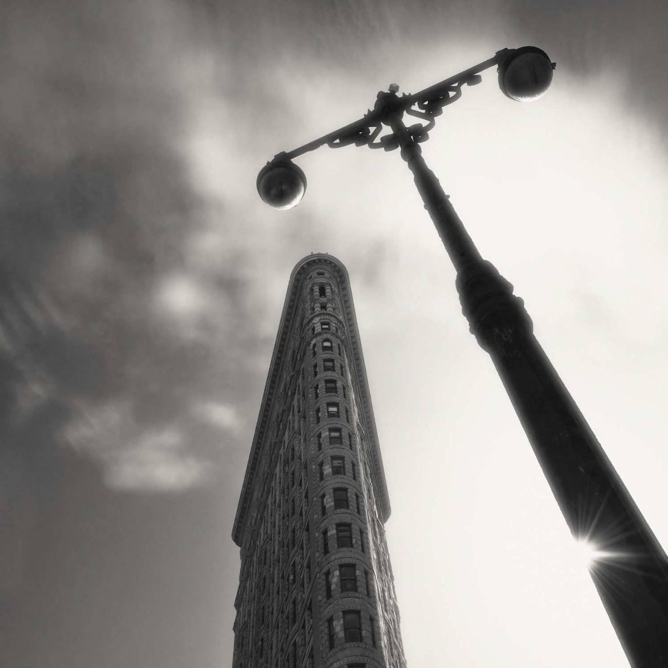 Flat Iron Building and sun, New York, 2009