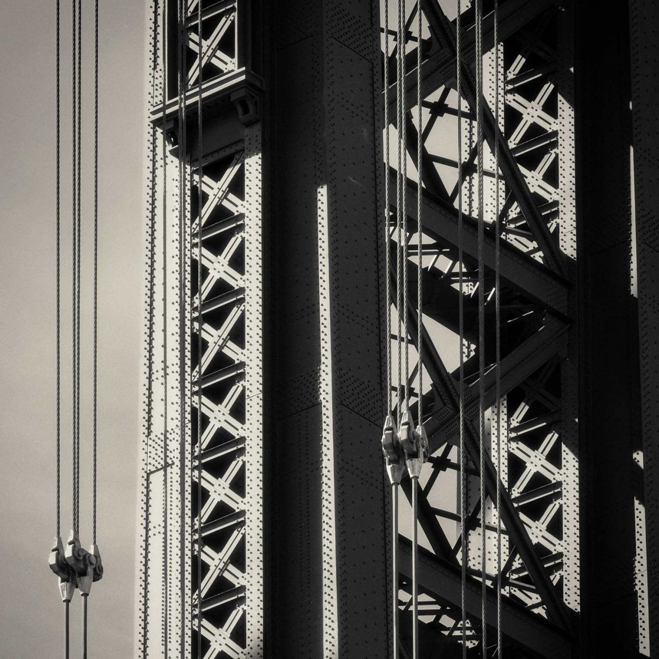 Manhattan Bridge detail, New York, 2013