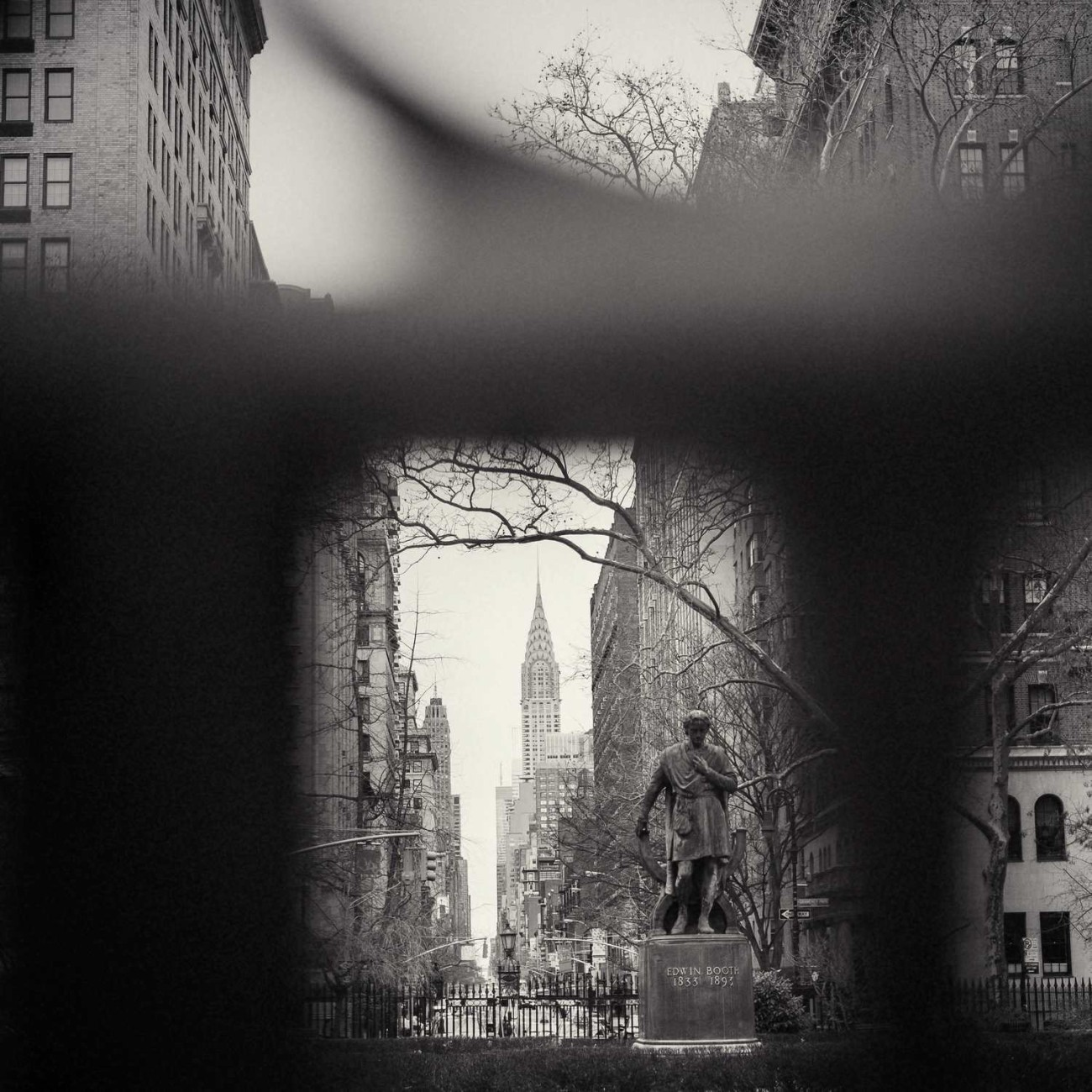 Chrysler Building from Gramercy Park, New York, 2014