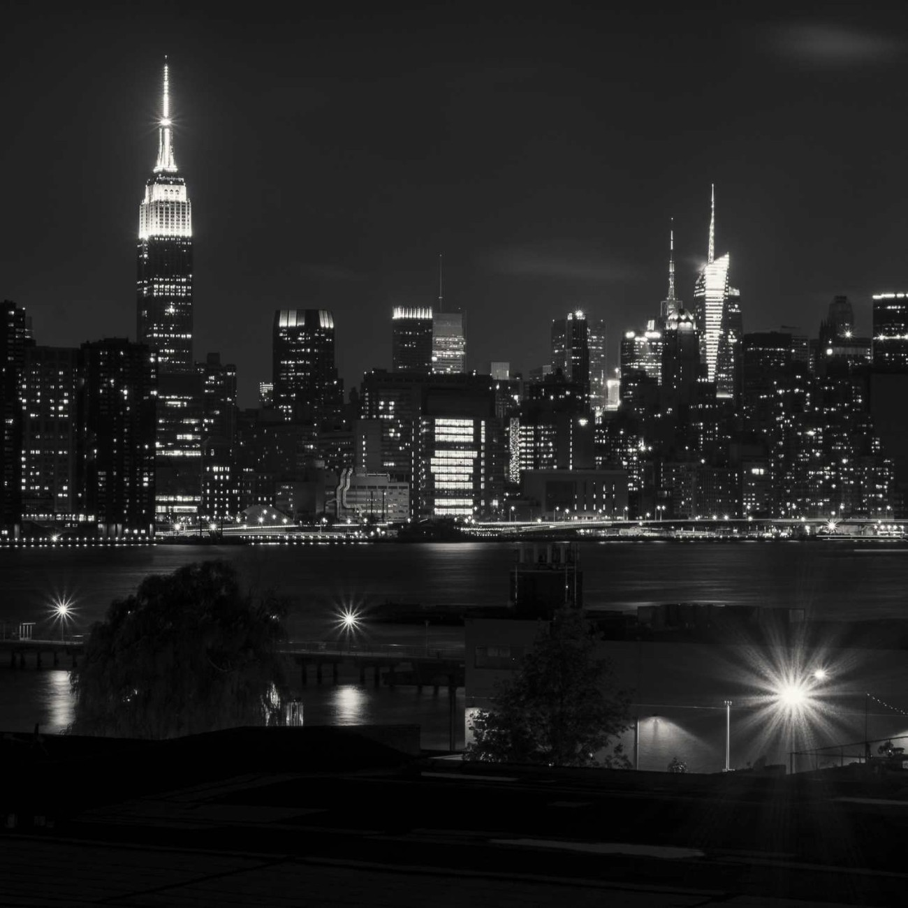 Manhattan skyline from Brooklyn, NY, 2014