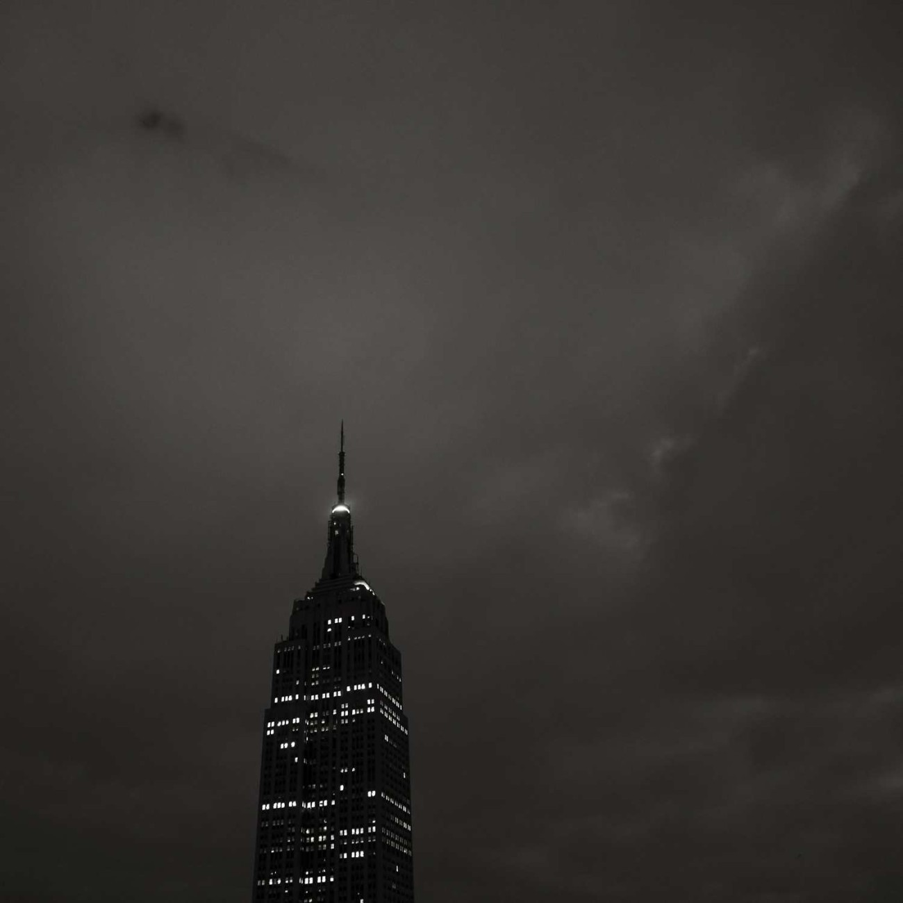 Middle of the night, Empire State Building, 2014