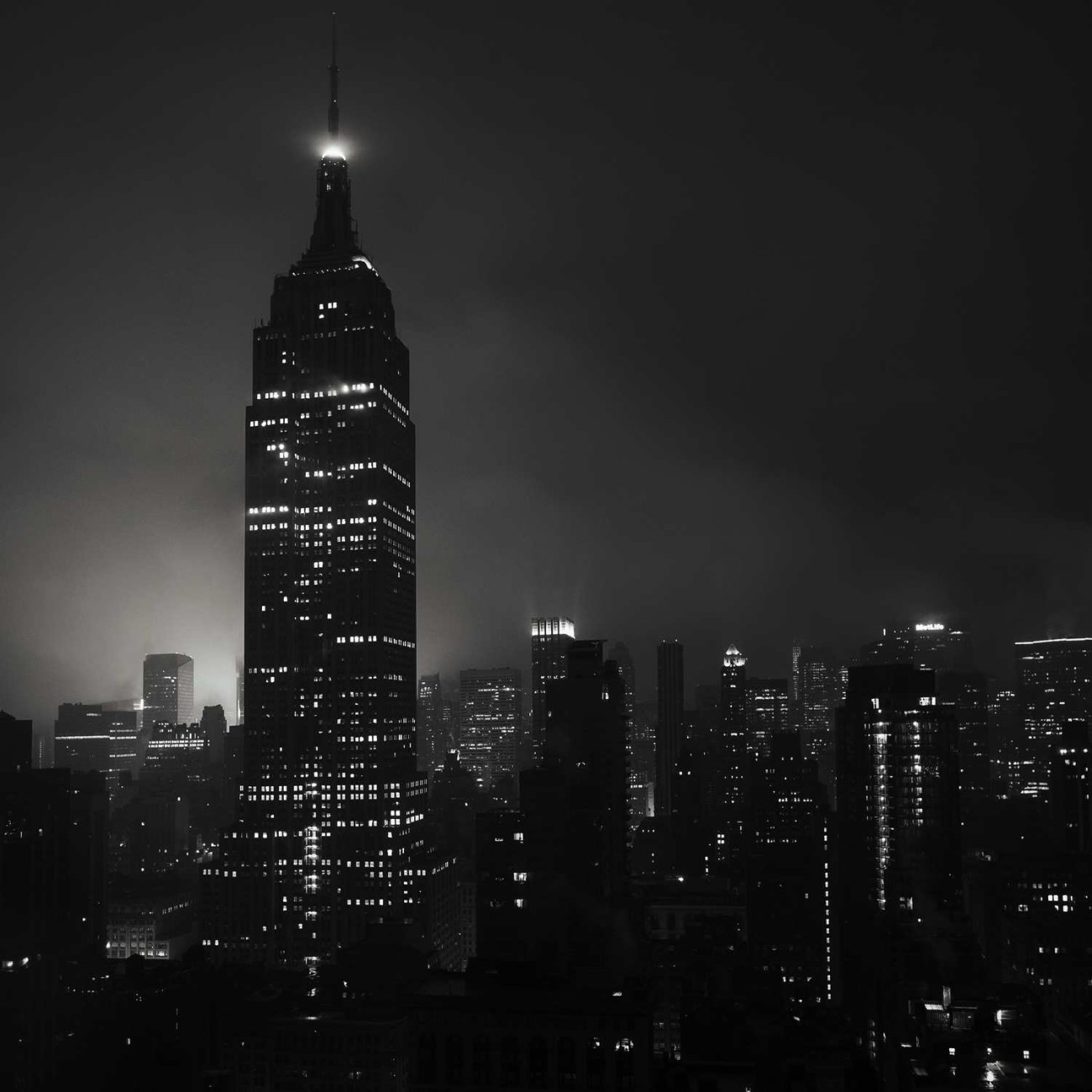 Pre-dawn mist, New York, 2014