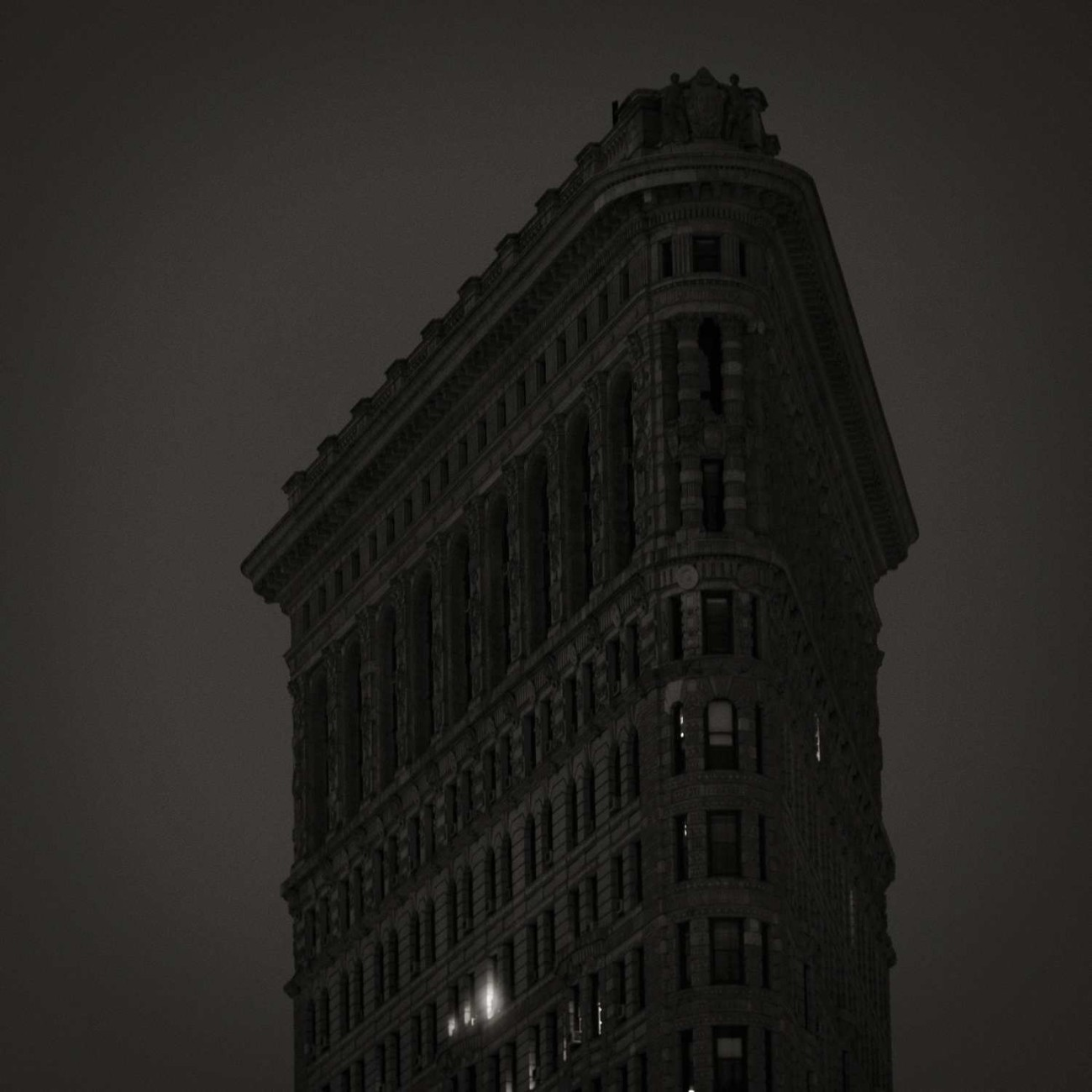 Late night lights in the Flatiron, New York, 2015