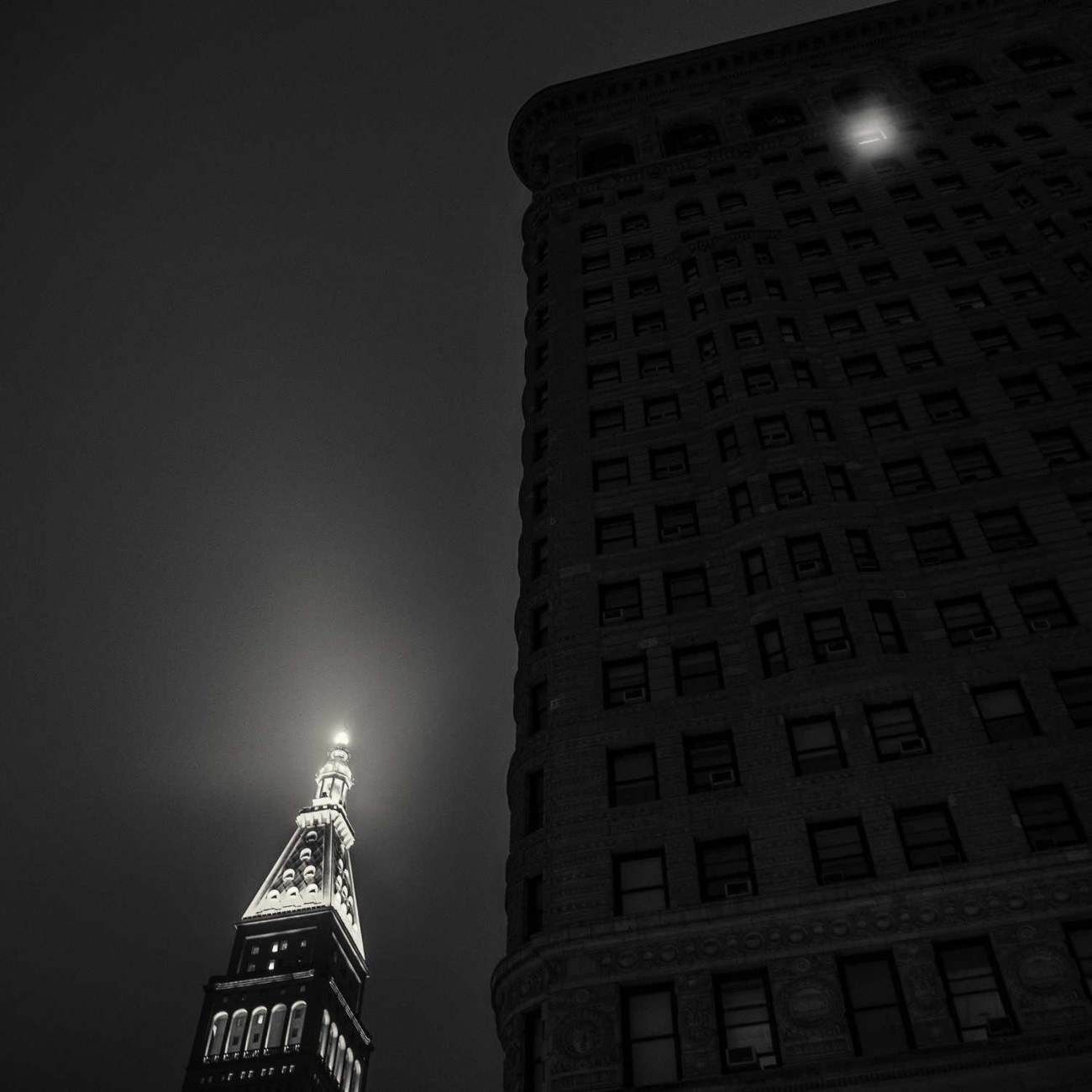 Late night window in the Flatiron, New York, NY 2015