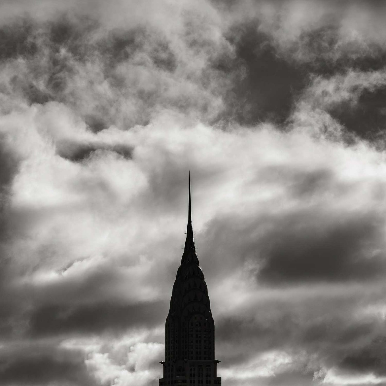 Chrysler Building and clouds at dawn, study 2, New York.2015