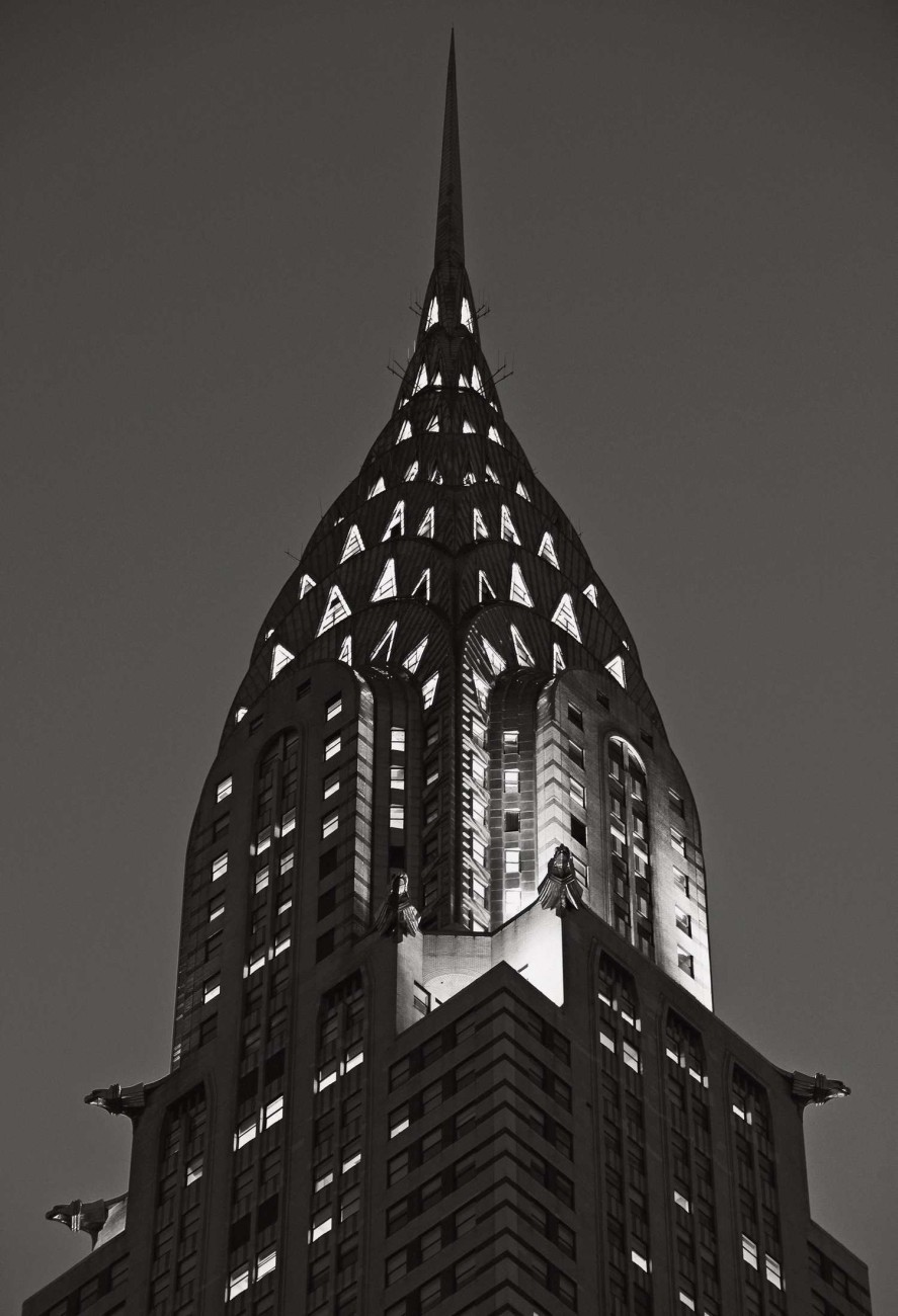 Chrysler Building at night, New York, 2009