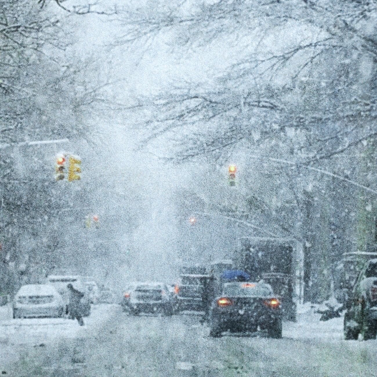 Snowy day Greenwich Village, NY, 2015