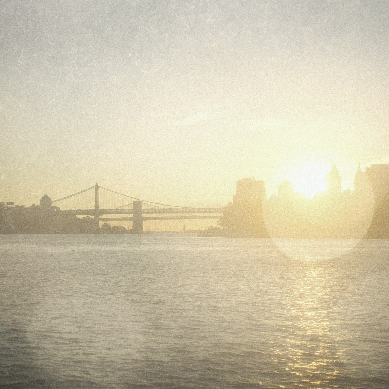 East River sunset, NY, 2015