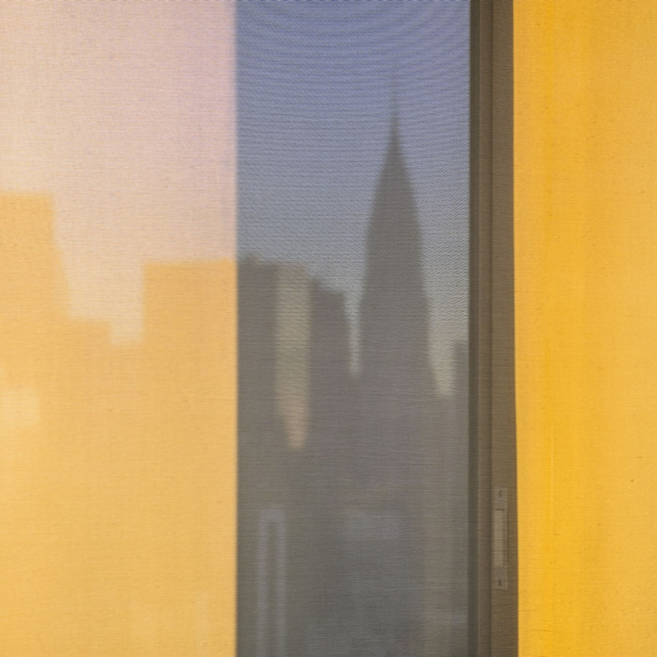 City silhouette at dawn, NY, 1016