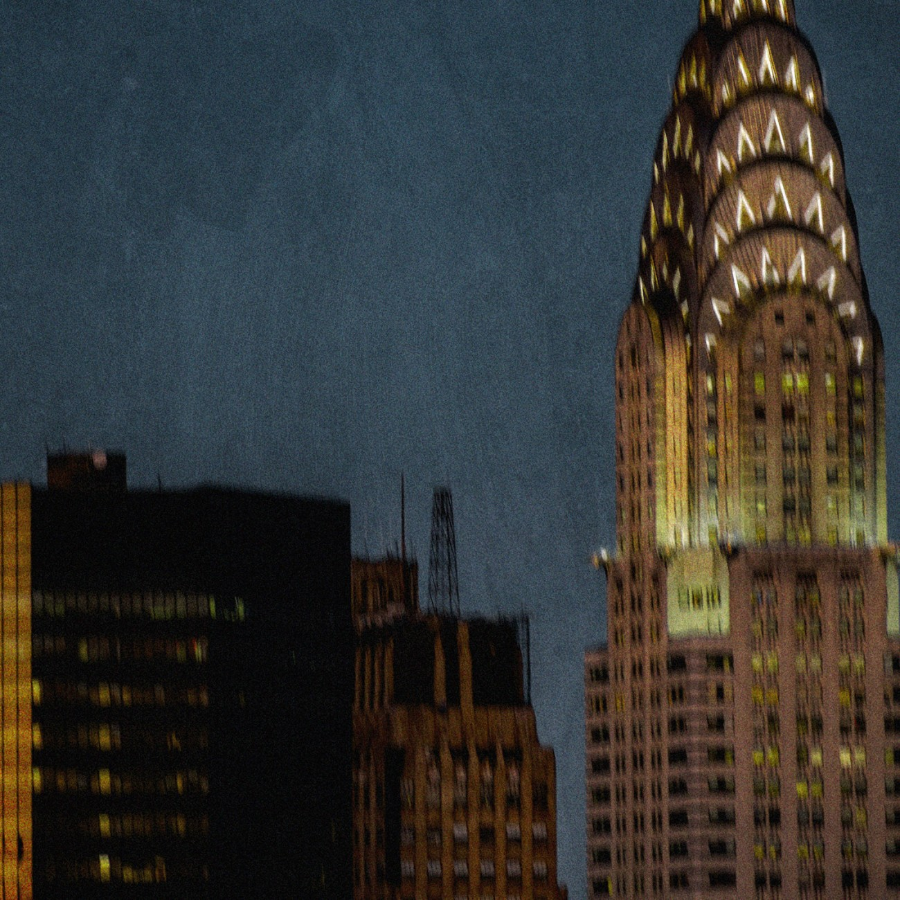 Chrysler Building at dusk, NY, 2015