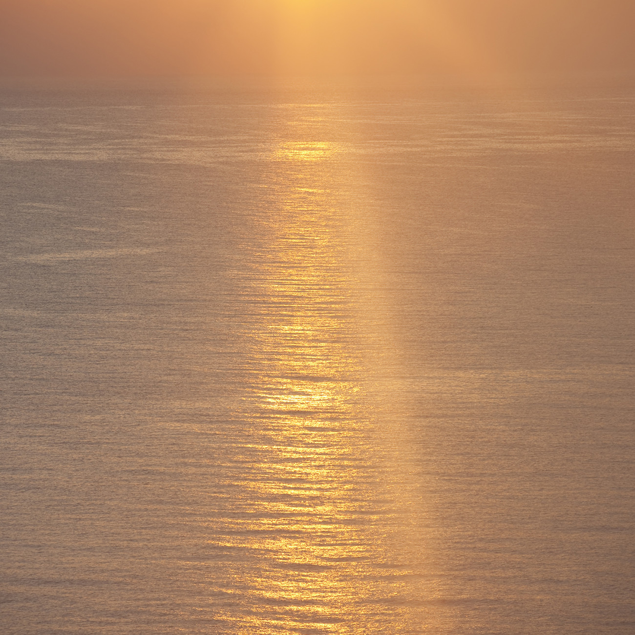 Sun flare at sunrise, Atlantic Ocean, 2009
