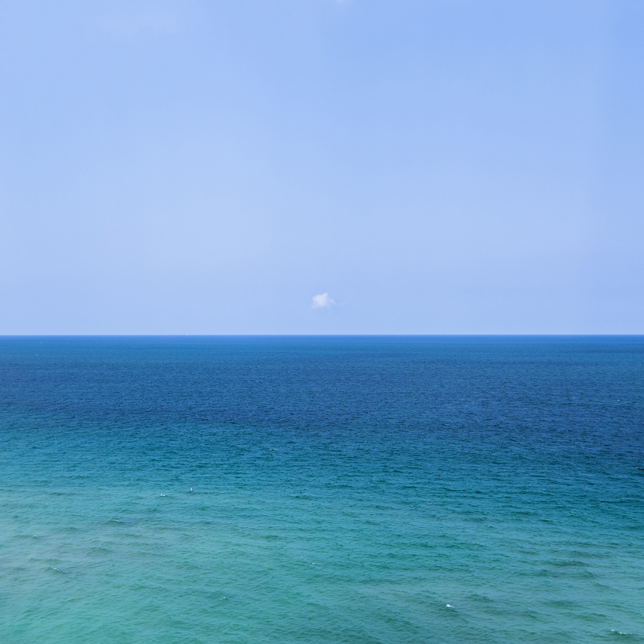 Lone cloud, Atlantic Ocean, 2015