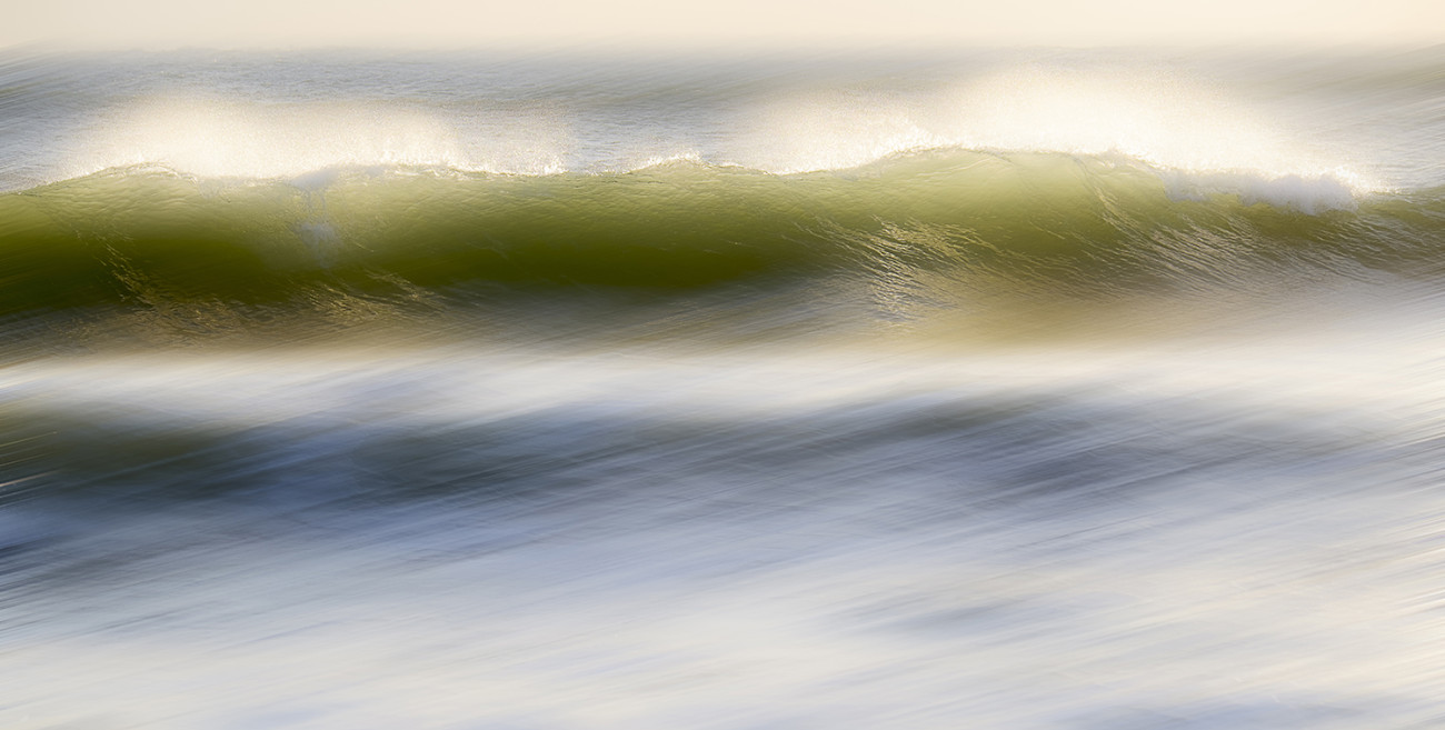 Cresting waves, Florida, 2015