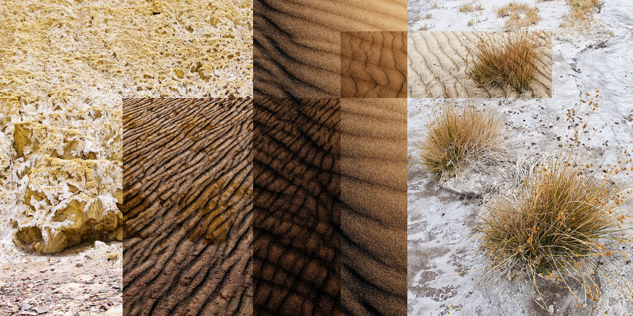 Wind patterns, Death Valley