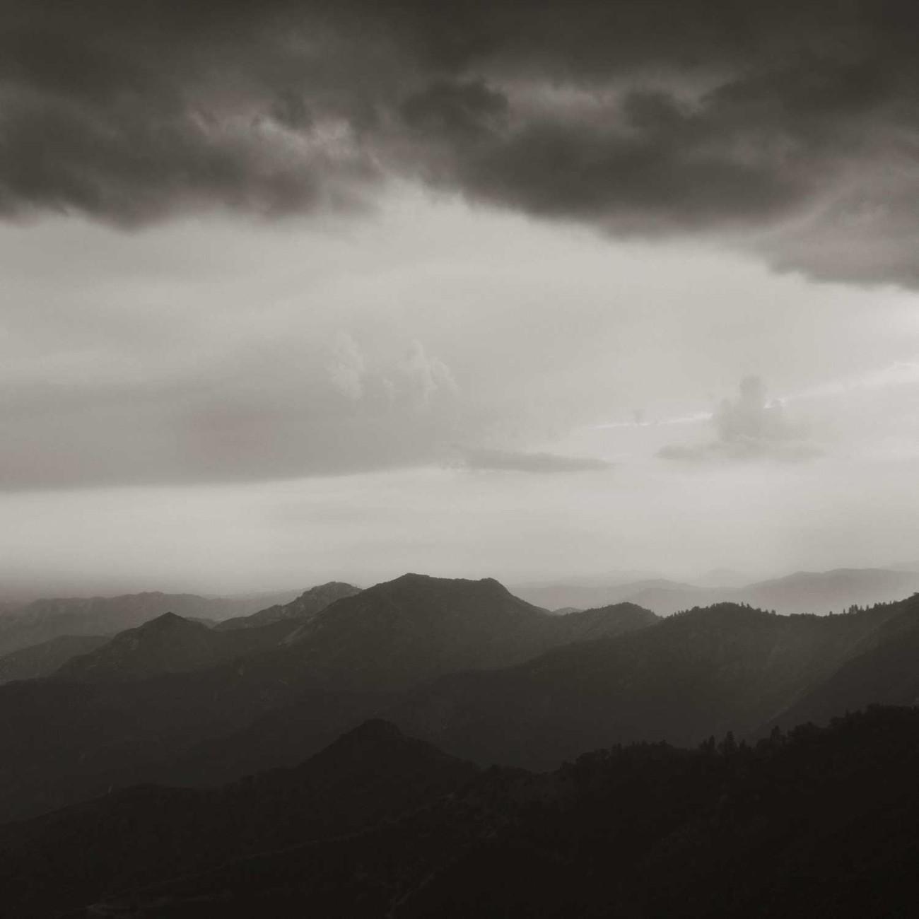 Sunset, Sierra Nevada, 2009