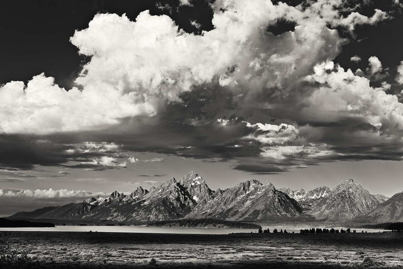 Clouds over the Tetons, Wyoming, 2009