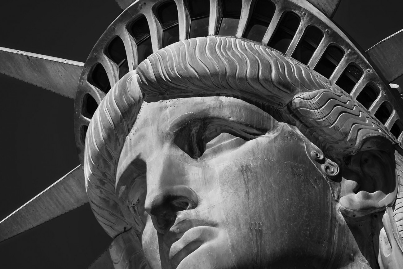 Face of Liberty, study I, NY, 2016