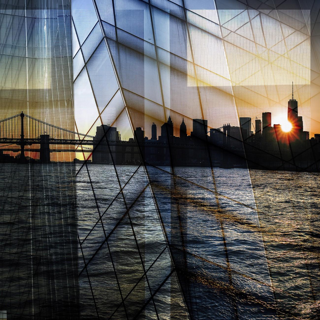 Metropolis - Island sunset, NY, 2016