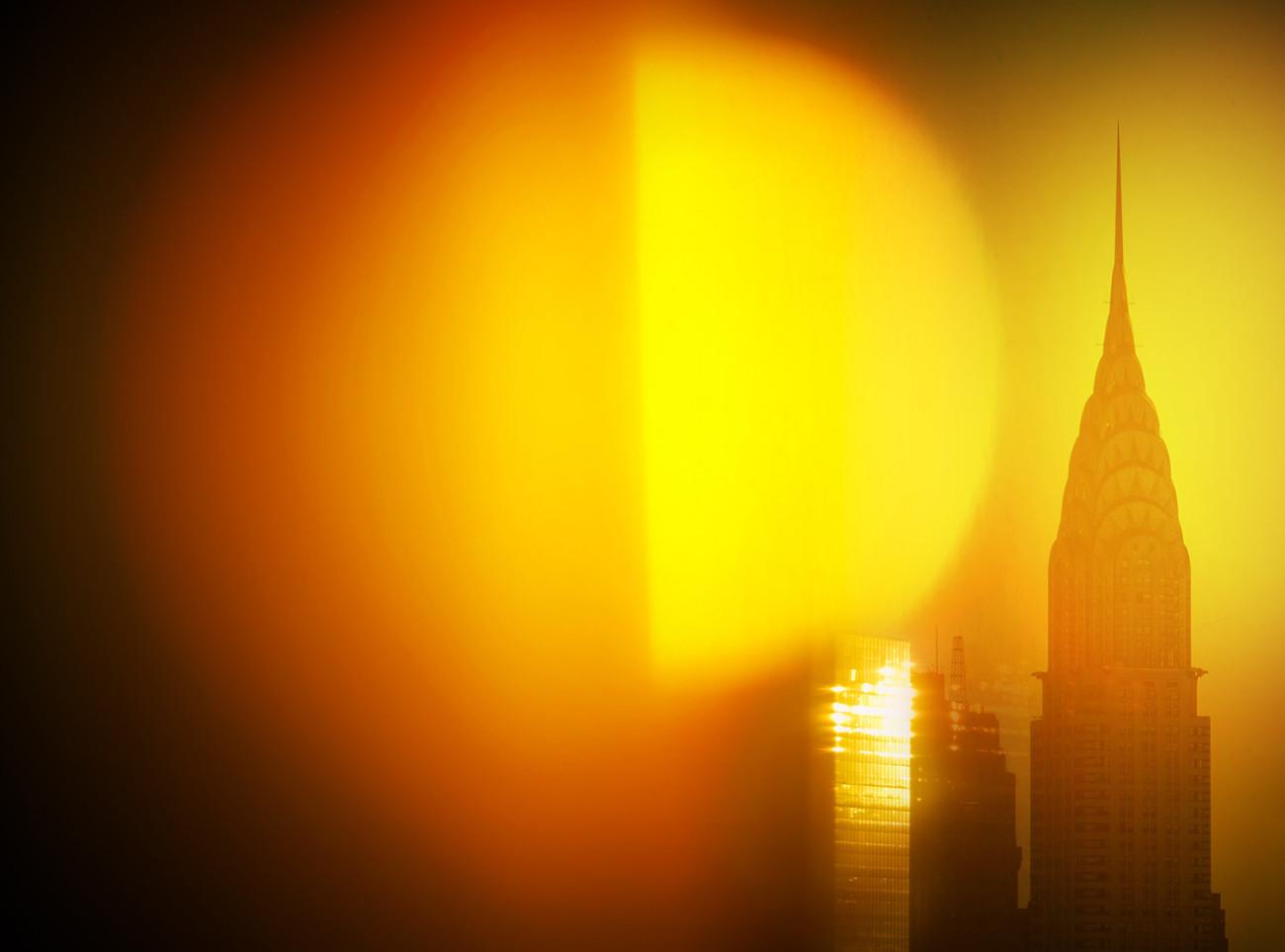 Chrysler Building sunrise, NY, 2016