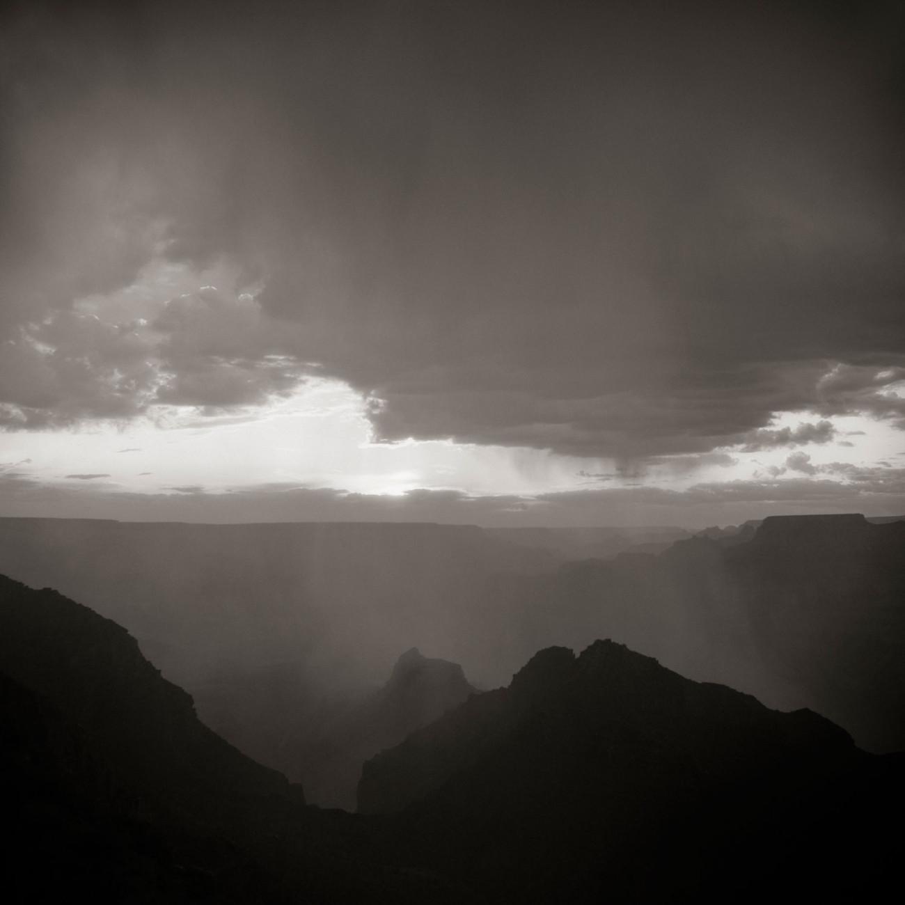 Clearing storm, Grand Canyon, Arizona, 2008