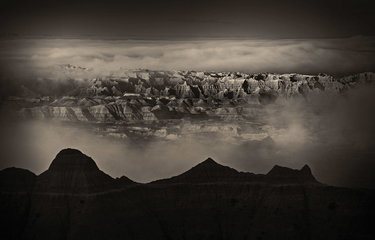 Ground fog, Badlands