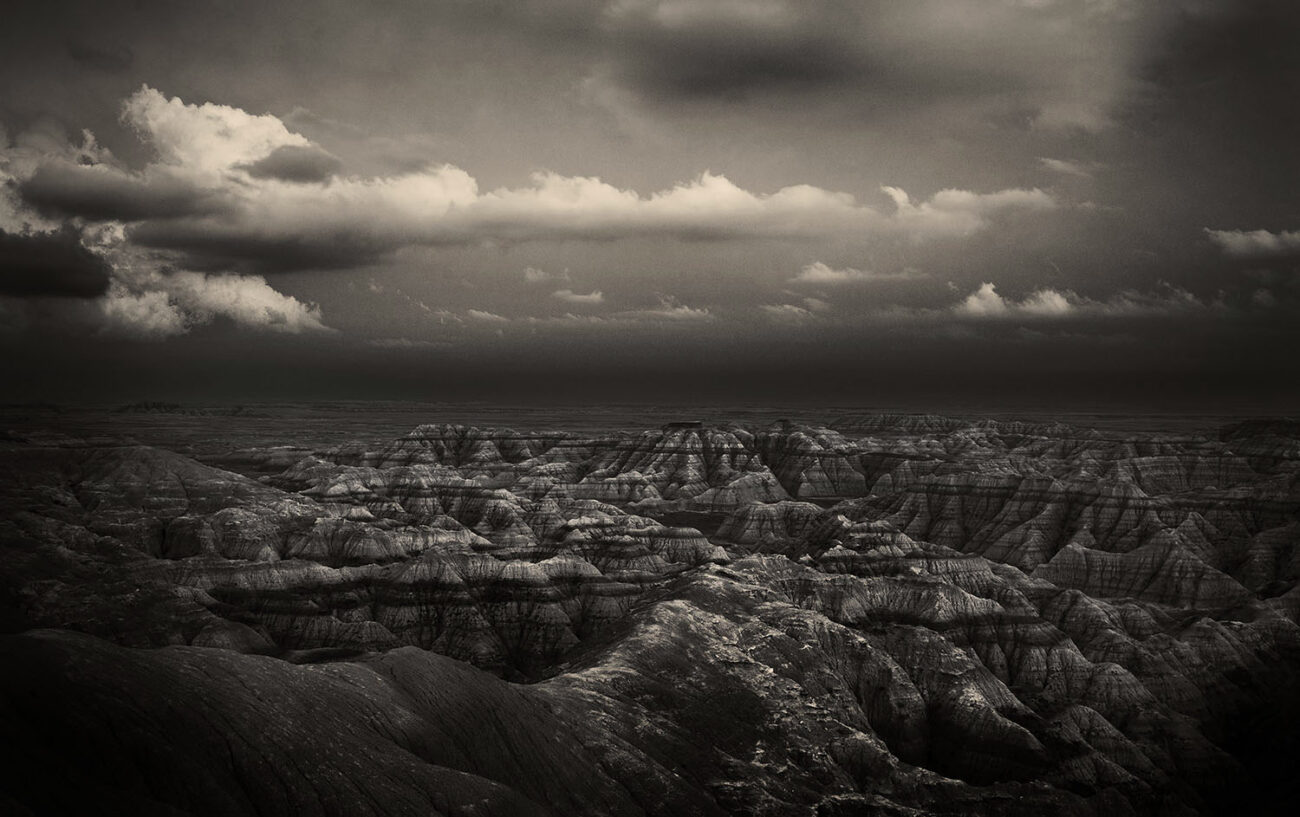 Fading light in the Badlands, 2010