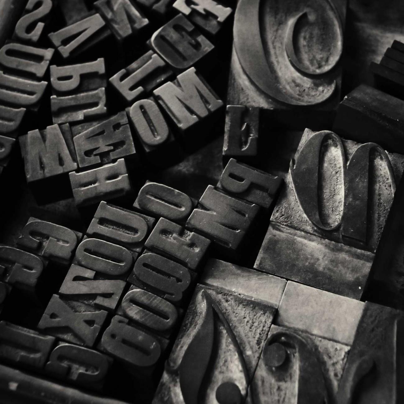 Random fonts, England, 2010