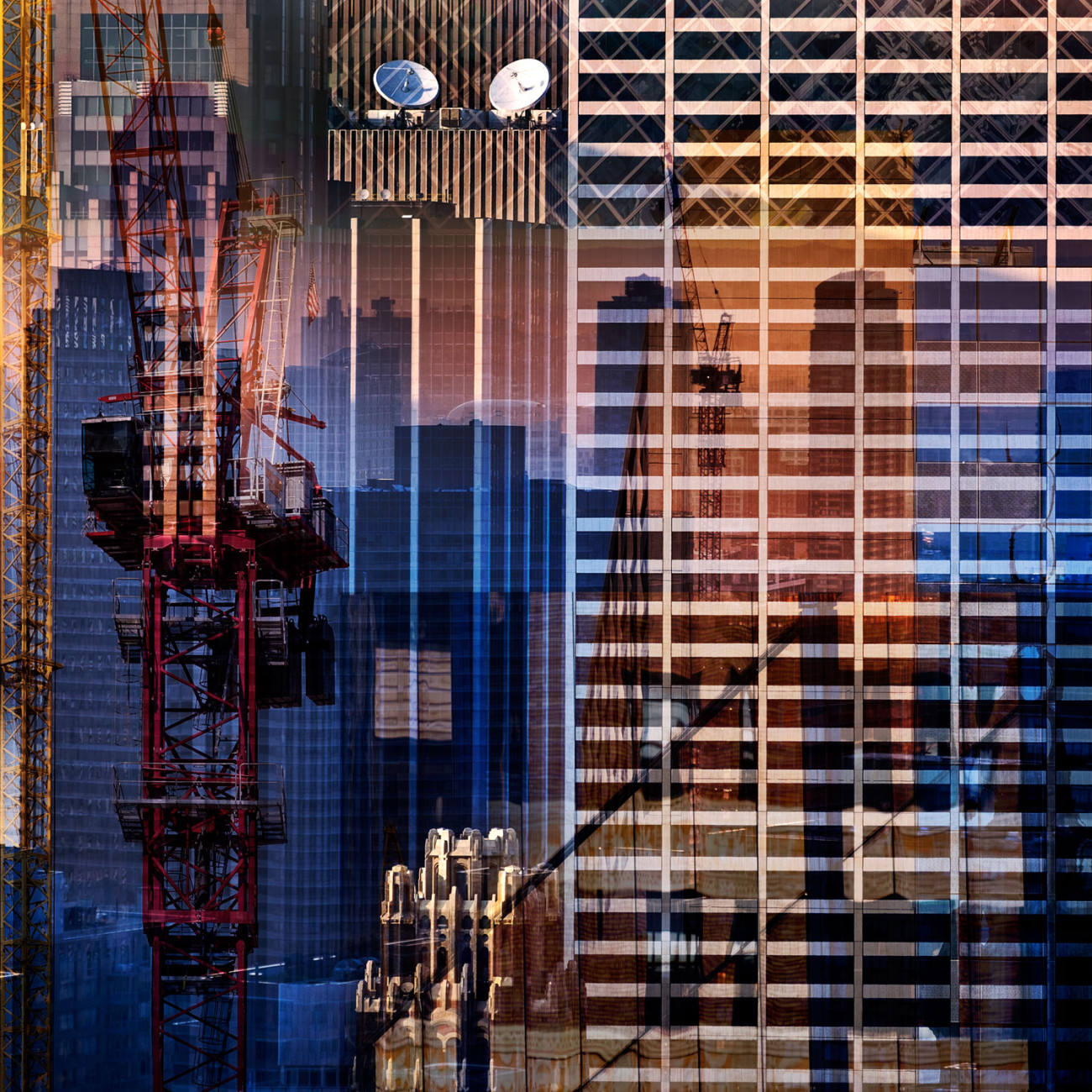 Metropolis - Higher and higher, NY, 2015