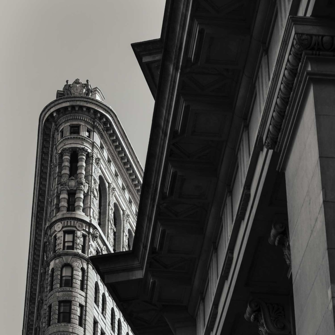 Flatiron and two triangles, NY, 2014