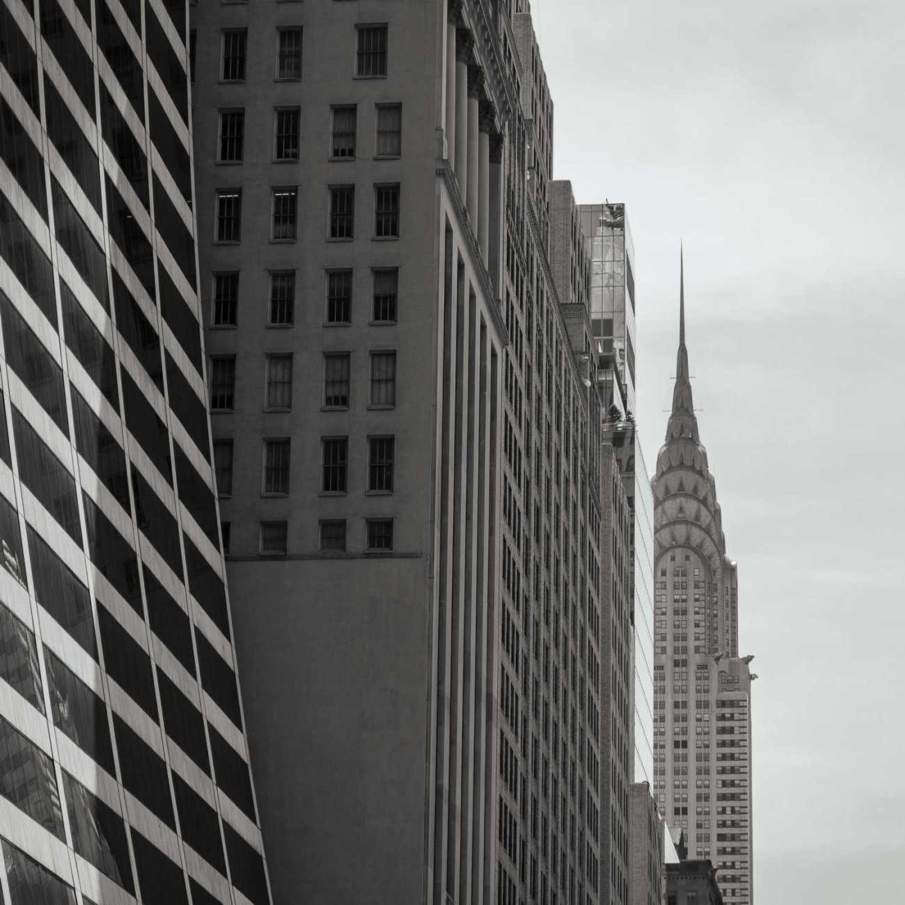 Chysler Building spire, New York, 2014