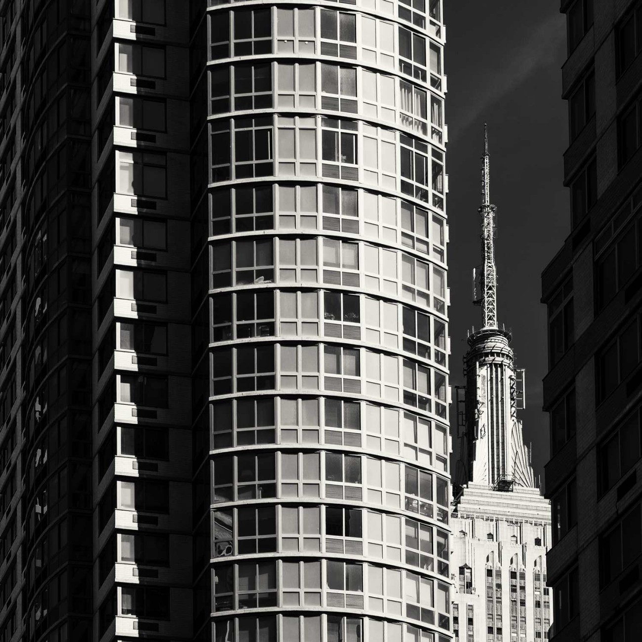 Empire State Building and apartments, NY, 2014