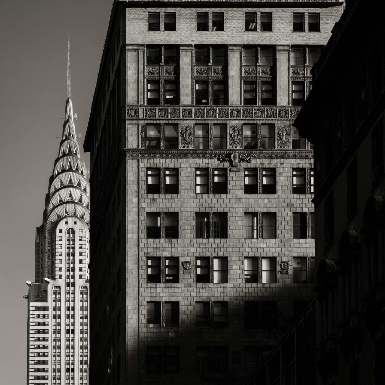 Chrysler Bulding and shadows, New York, 2015