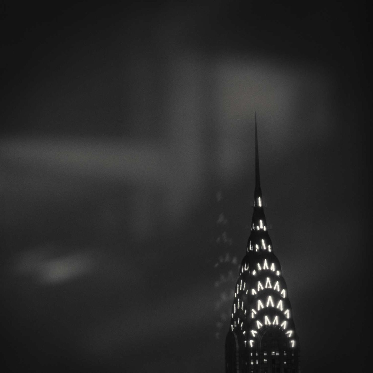 Chrysler Building night reflection, NY, 2015