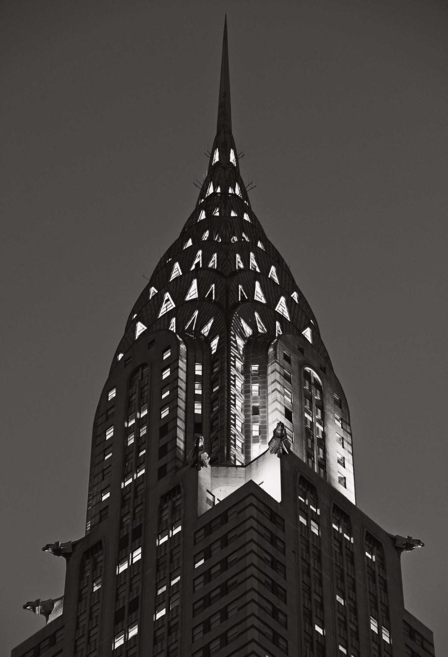Chrysler Building at night, New York, 2009