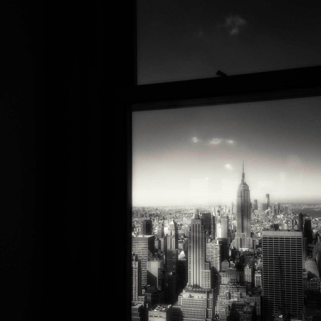 Empire State Building and window, New York, 2012