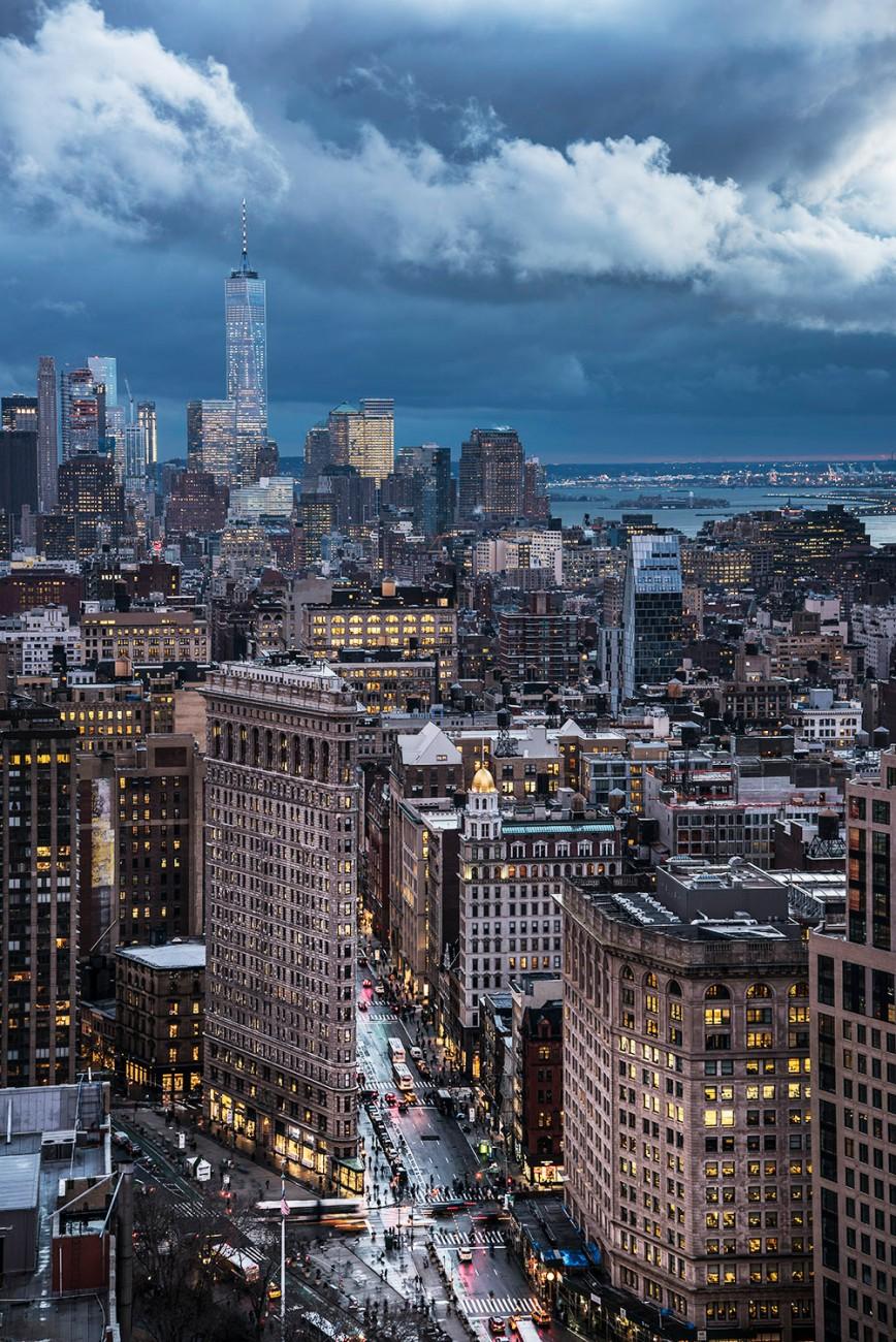 A break in the rain, New York, 2016