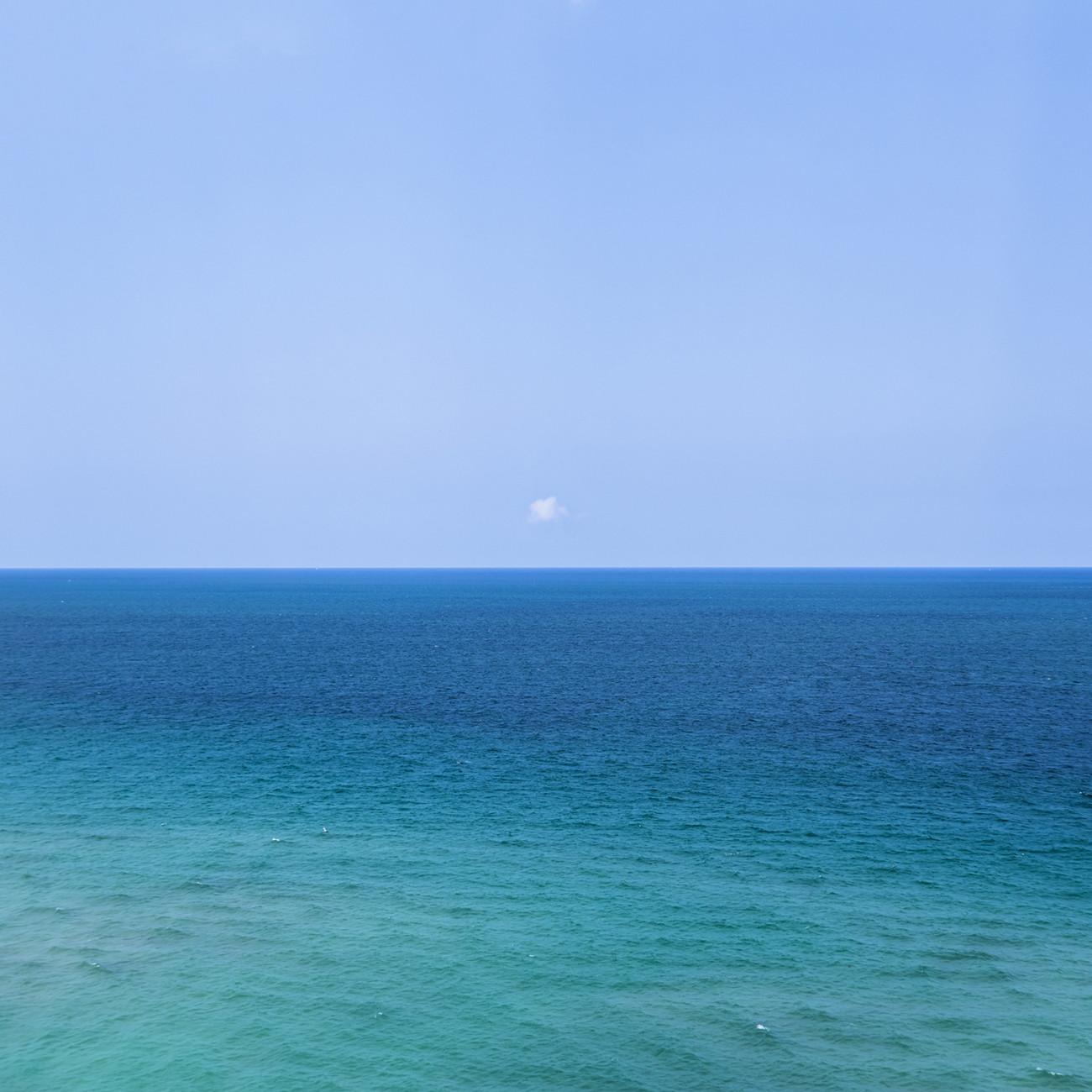Lone cloud, Atlantic Ocean, 2015