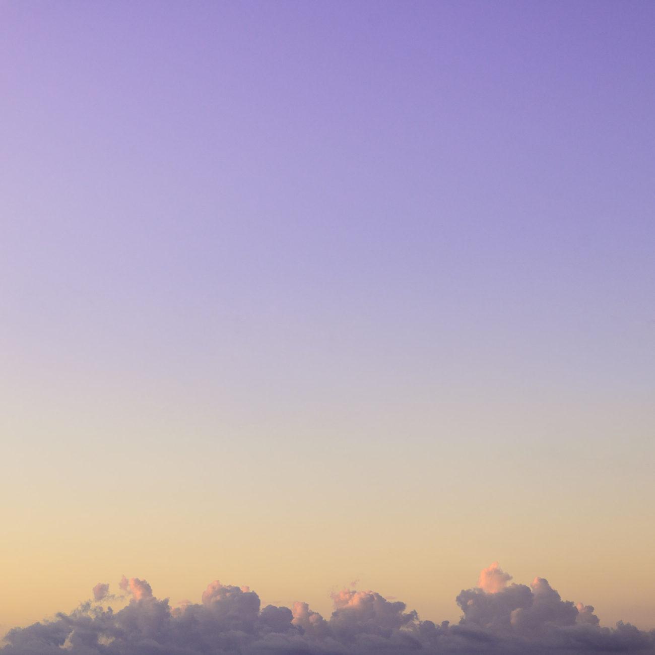 Morning cloud line, Atlantic Ocean, 2017