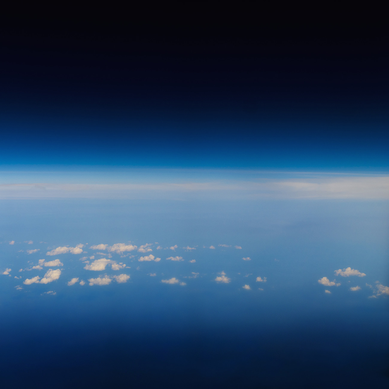 High above the Atlantic, 2011